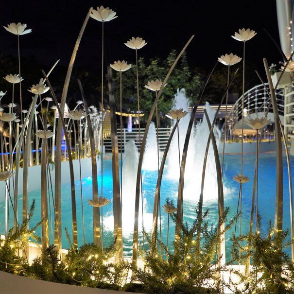 Ricevimenti Garden: fontana esterna